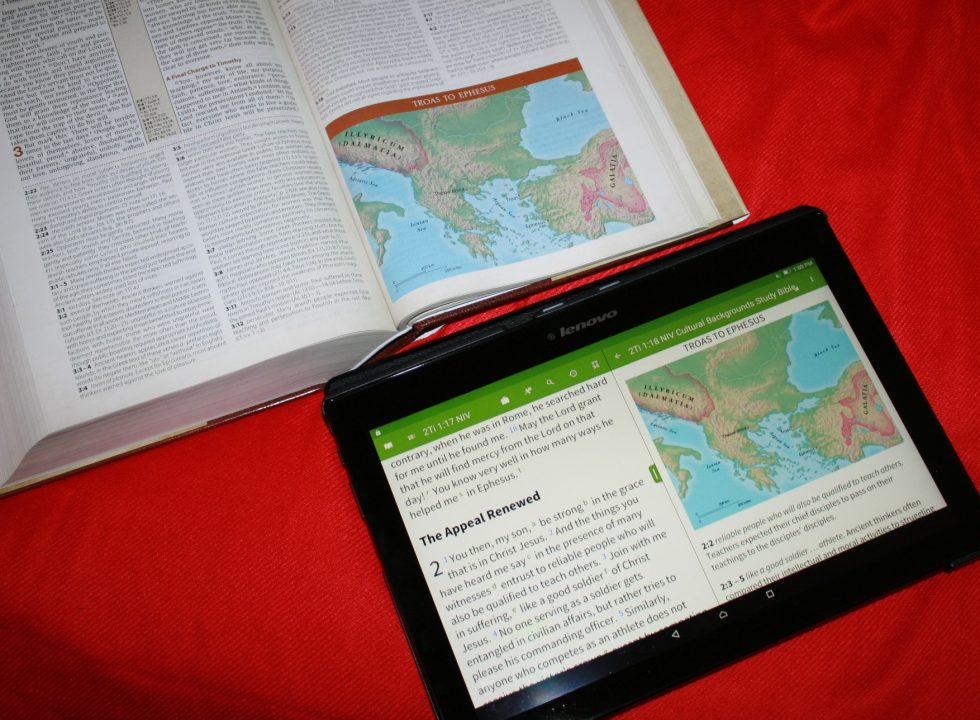 NIV Cultural Backgrounds Study Bible  (45)
