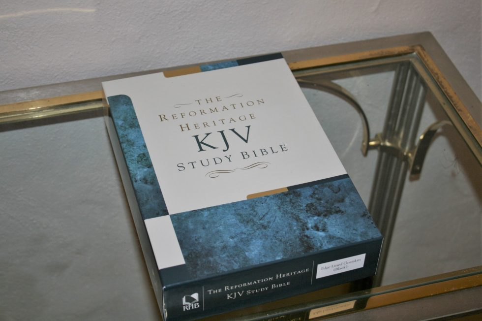 The Reformation Heritage KJV Study Bible (4)