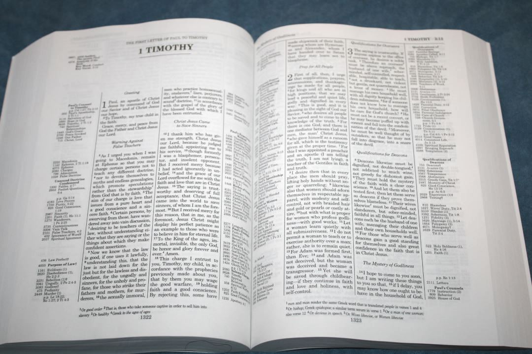 Thompson Chain Reference Bible ESV - Review - Bible Buying Guide