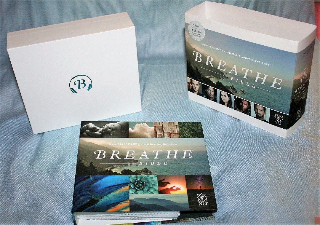 Breathe Bible Review - an NLT Audio New Testament - Bible Buying Guide