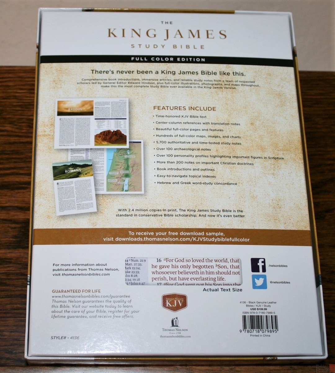 Thomas Nelson's King James Study Bible Review - Bible Buying Guide