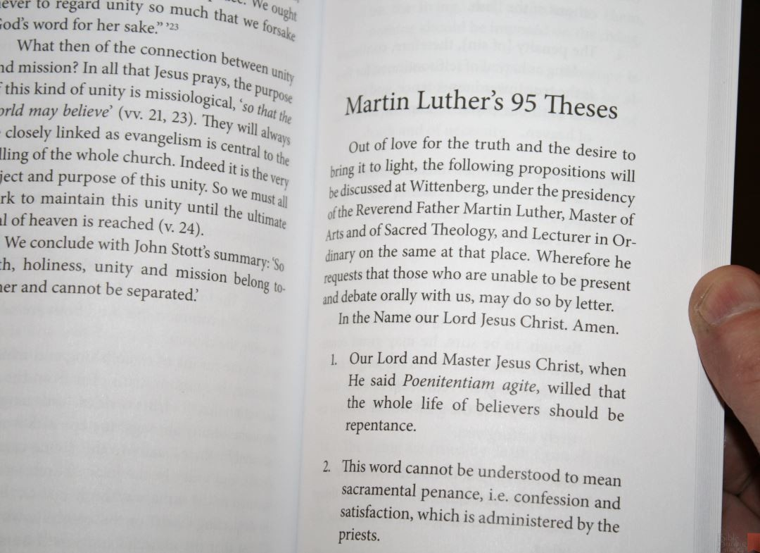 This Is All 95 Of Martin Luthers Theses Translated Into English With No Additional Comments I Like That List Was Included Because The