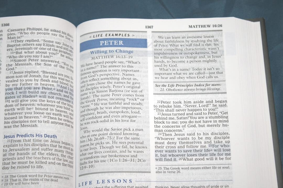 Life Principles Bible Review - Bible Buying Guide