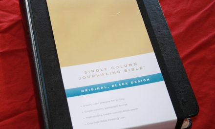 Crossway ESV Single Column Journaling Bible Review
