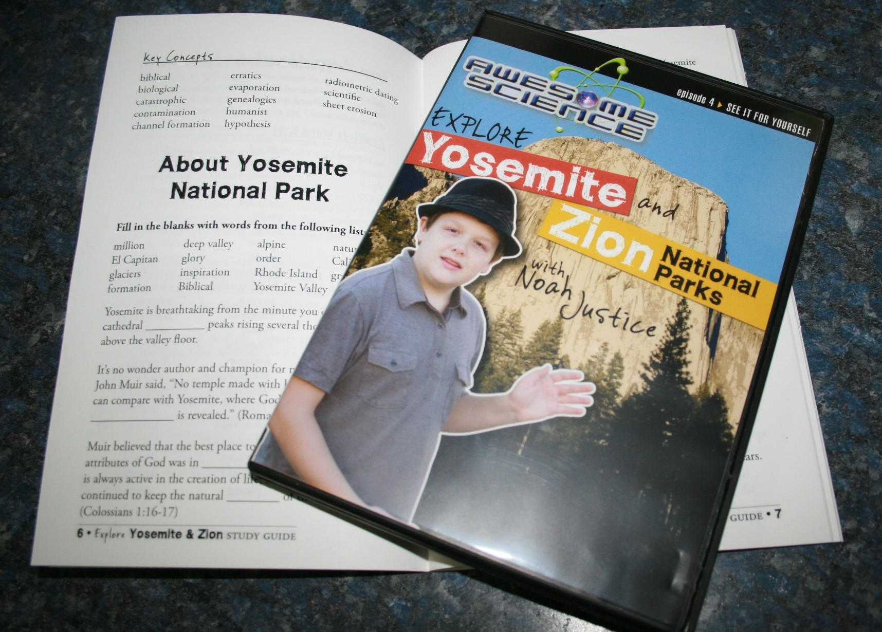 Awesome Science Explore Yosemite and Zion National Parks DVD wit 001