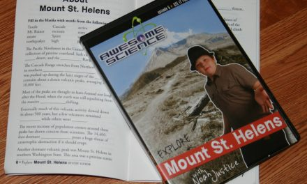 Awesome Science Explore Mount St. Helens DVD and Study Guide Review