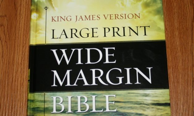 Hendrickson Large Print Wide Margin Bible KJV – Review