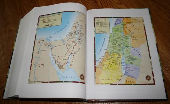 Hendrickson Large Print Wide Margin Bible KJV 015