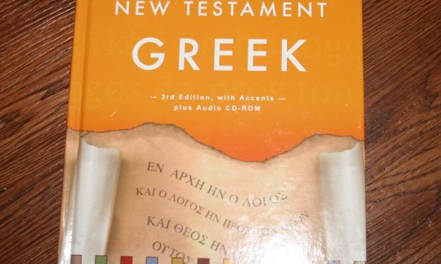 Learn New Testament Greek by John Dobson – Review