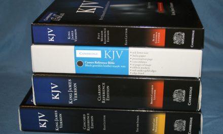 Cambridge KJV Comparison