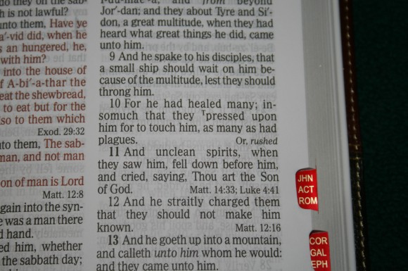 Holman Hand Size Giant Print Reference Bible KJV 059