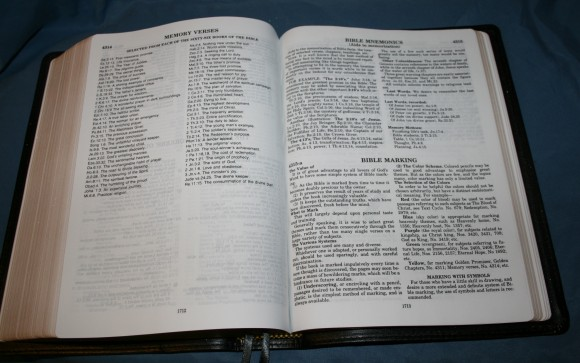 LCBP Thompson Chain Reference Bible 091