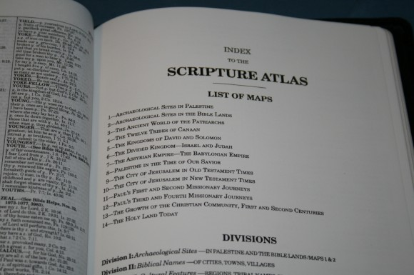 LCBP Thompson Chain Reference Bible 097
