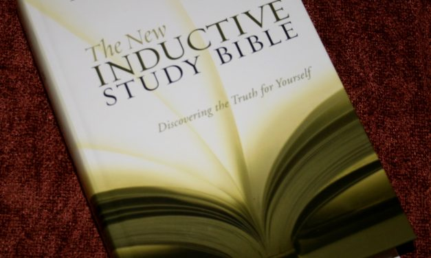 The New Inductive Study Bible ESV – Review