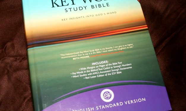 Hebrew-Greek Key Word Study Bible ESV – Review