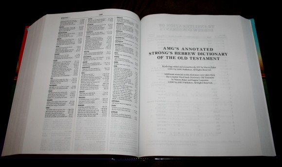 Hebrew-Greek Key Word Study Bible ESV 019