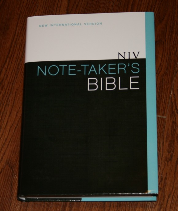 NIV Note-Takers Bible 002