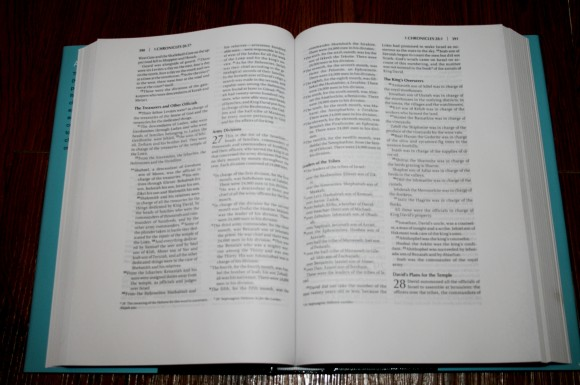 NIV Note-Takers Bible 006
