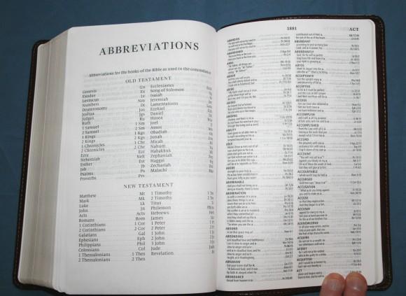 Crossway ESV Large Print Personal Size Bible 019