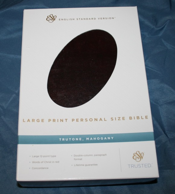 Crossway S Large Print Personal Size Esv Bible Unboxing
