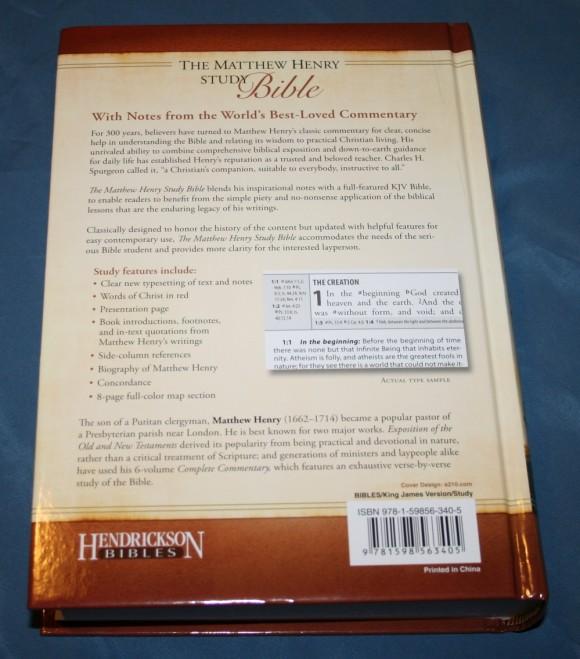 The Matthew Henry Study Bible 003
