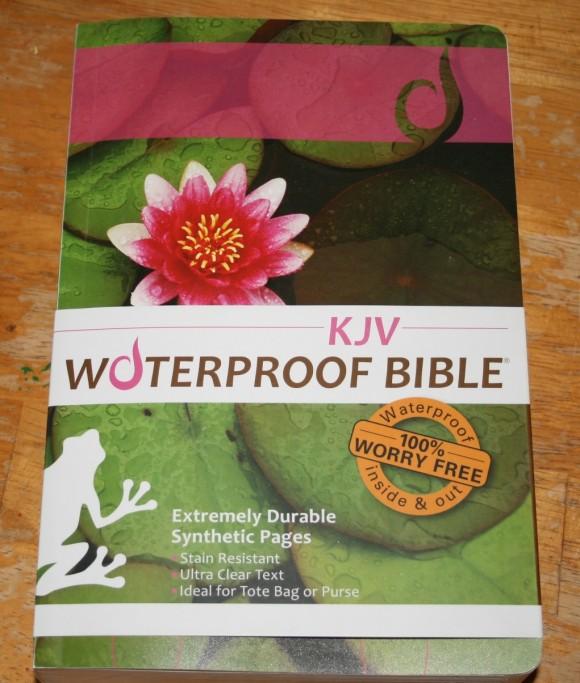 Waterproof Bible 001