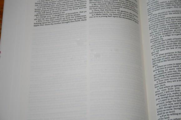Waterproof Bible 025