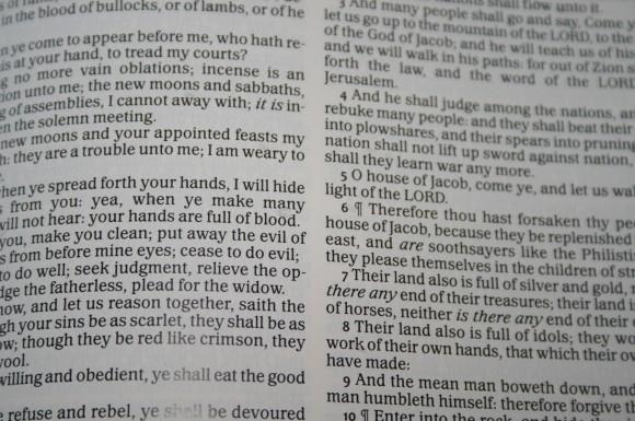 Waterproof Bible 026