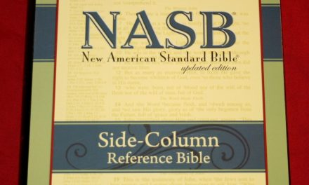 Foundation's Side Column Reference Bible NASB – Review