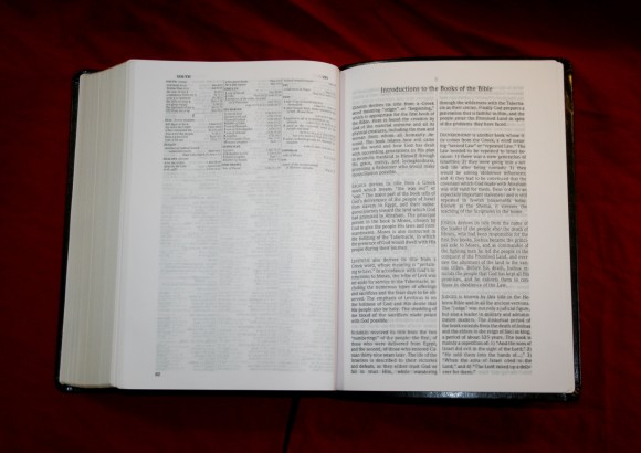 Foundation's Side Column Reference Bible NASB 017