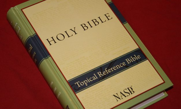 Foundation's Topical Reference Bible NASB – Review