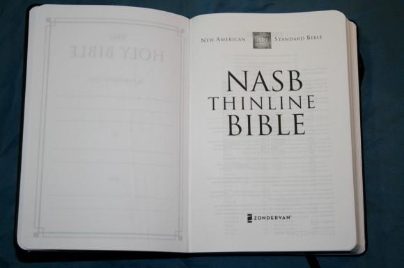NASB Skinii Bible from Zondervan 029