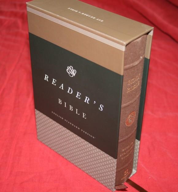 Crossway's ESV Reader's Bible 001