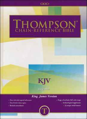 KJV Thompson Chain-Reference Bible Large print