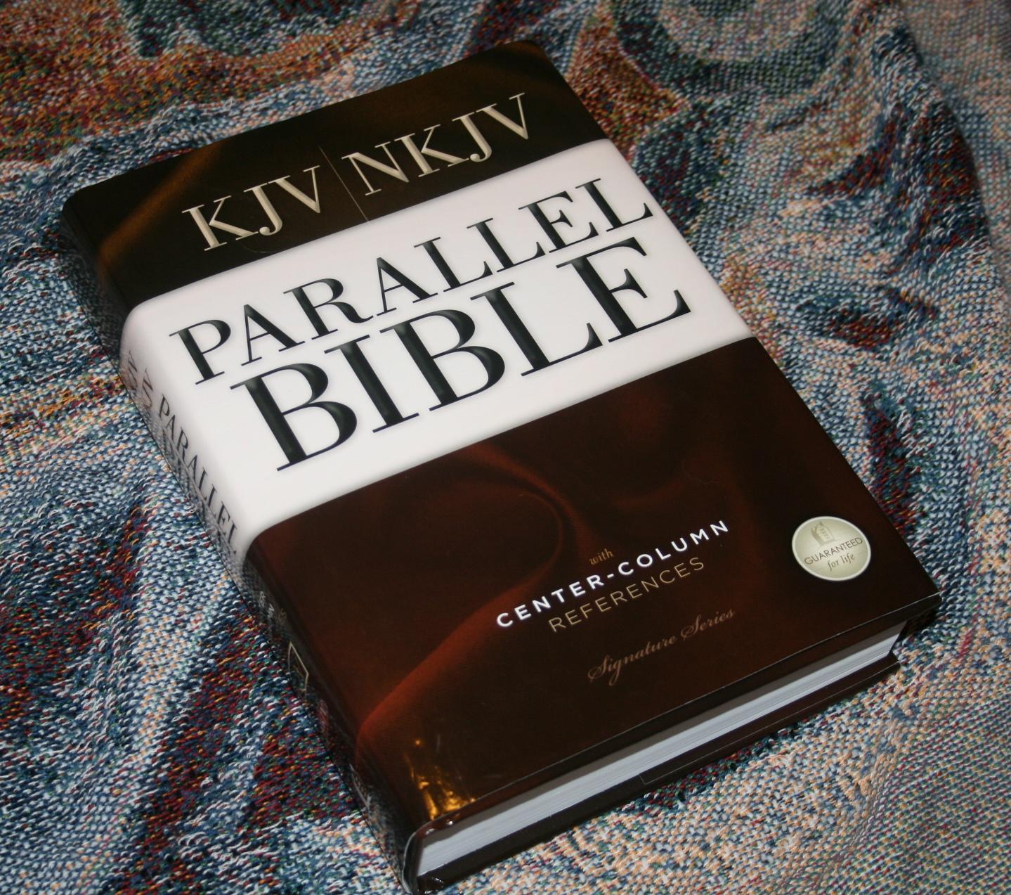 Thomas Nelson Kjv Nkjv Parallel Bible Review