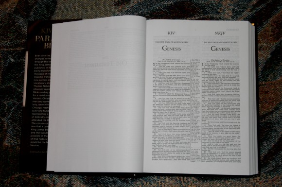 Thomas Nelson KJV NKJV Parallel Bible – Review 006