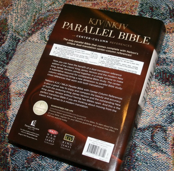Thomas Nelson KJV NKJV Parallel Bible – Review 015