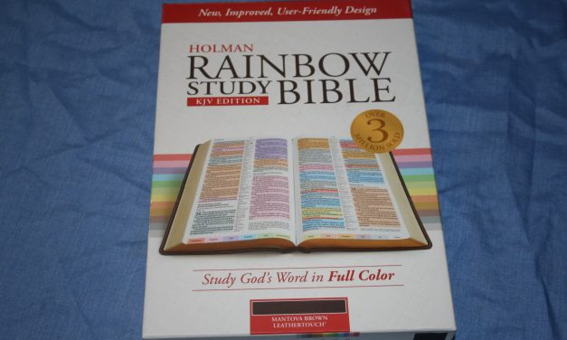 Improved Holman Rainbow Study Bible KJV – Review