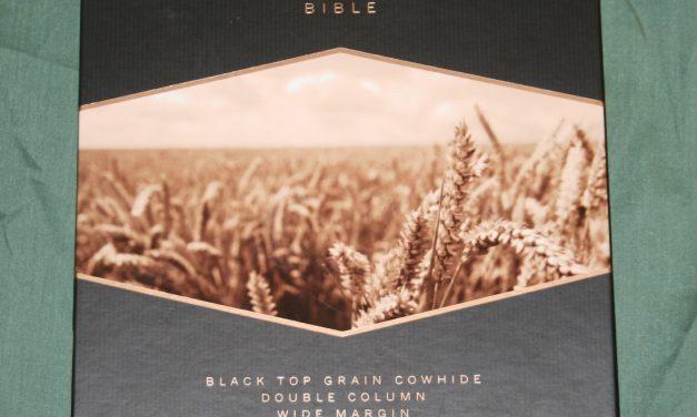 Holman KJV Minister's Bible in Black Top Grain Cow Hide – Review