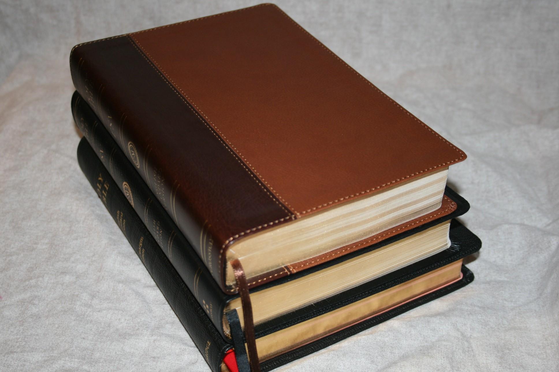 Cambridge And Crossway Esv Wide Margin Bible Comparisons