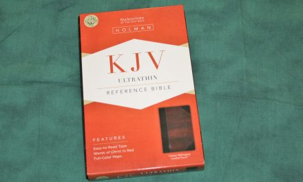 Holman KJV Ultrathin Reference Bible – Review