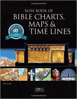 Rose Book of Bible Charts, Maps, & Timelines – Review