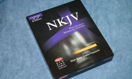 Cambridge NKJV Wide Margin Bible – Review