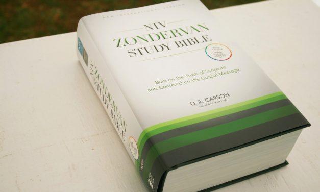 NIV Zondervan Study Bible – Review