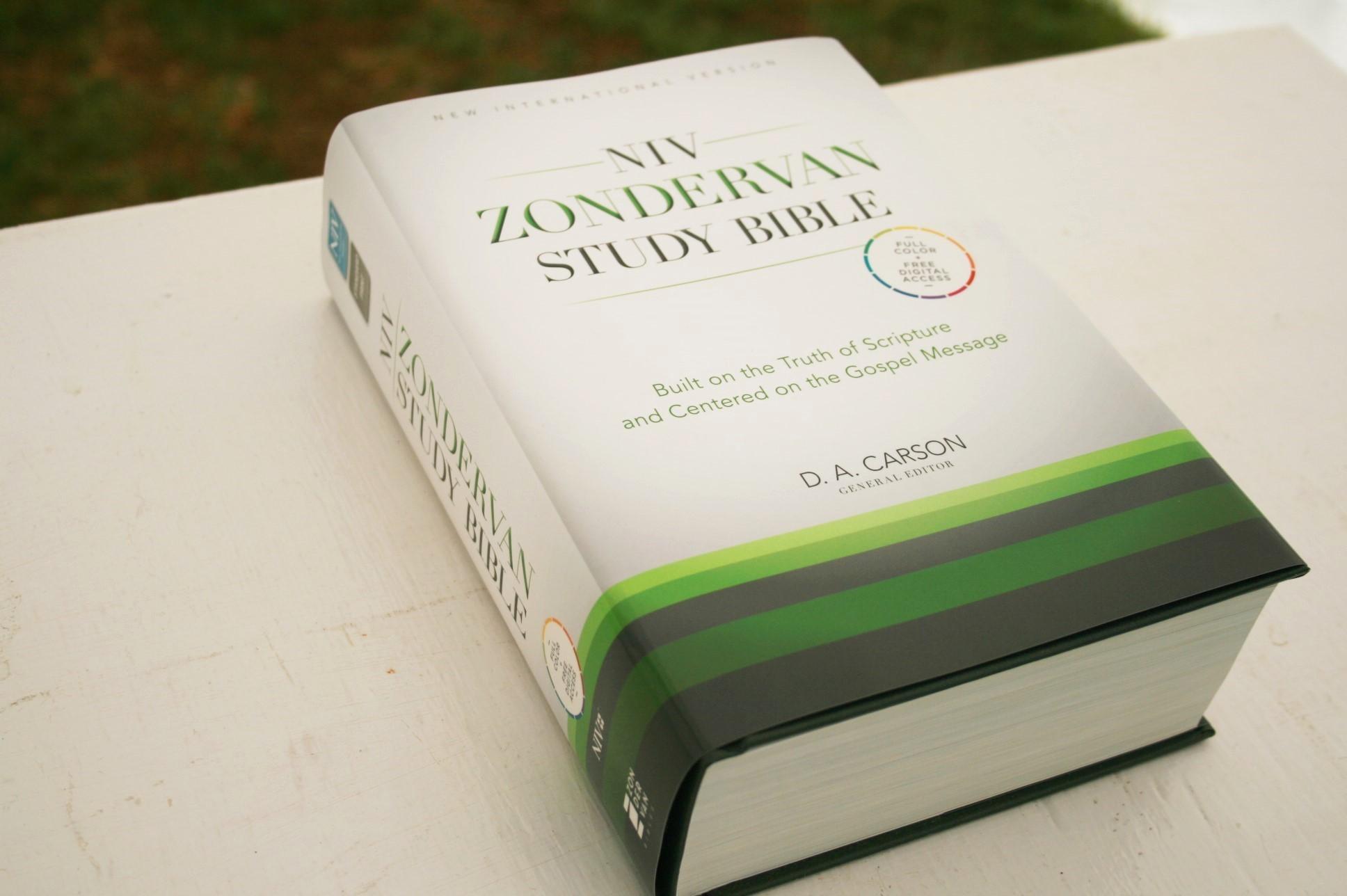Niv Zondervan Study Bible Review Bible Buying Guide