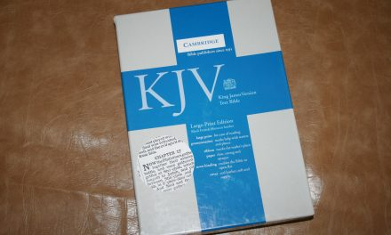 Cambridge KJV Large Print Text Bible – Review