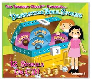 The Treasure Chest Dramatized Bible Stories CD Volume 1 – Review