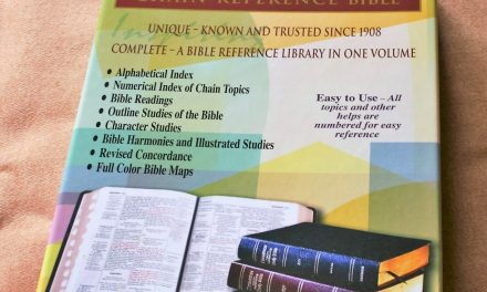 Kirkbride NKJV Thompson Chain Reference Bible Review