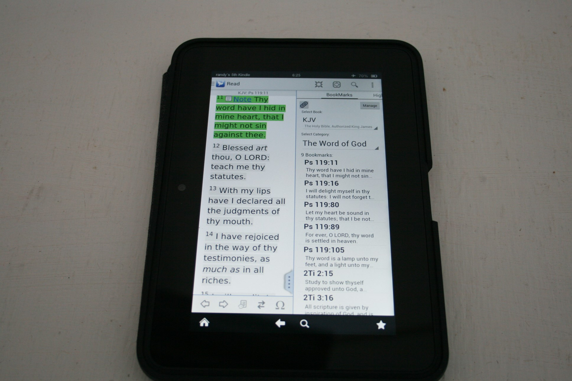 Preaching and Teaching From a Tablet - Bible Buying Guide