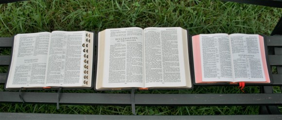 Three Classic Cambridge KJV's - Concord, Large Print Text, and Cameo
